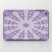 Jungle Kaleidoscope Amethyst iPad Case