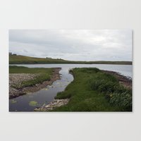 The Loch of Vatsetter Canvas Print