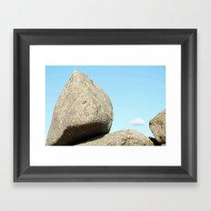 Stonework III Framed Art Print