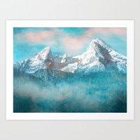MOUNTAIN SCAPES | Watzmann Art Print