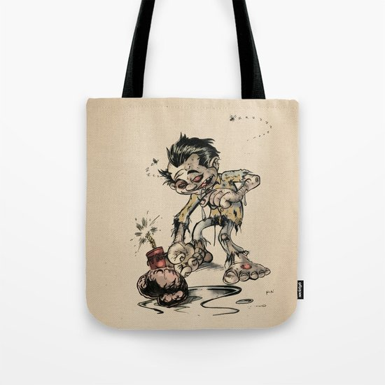 How to Trick a Zombie Tote Bag
