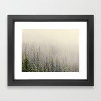 Mountain Haze Framed Art Print