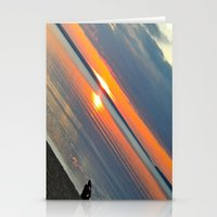 Silver Lake Sunset  Stationery Cards