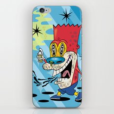 Bart Stimpson iPhone & iPod Skin