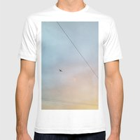 Flying High Mens Fitted Tee White SMALL
