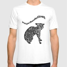 Artcat Mens Fitted Tee SMALL White