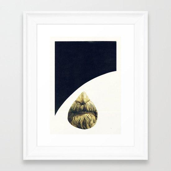 BURKA  Framed Art Print