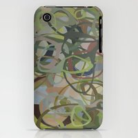 iPhone 3Gs & iPhone 3G Cases featuring Forest Greens by MadisonBlochArt