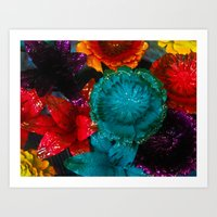 To Smell The Flowers Art Print