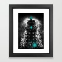 Shadow Of The Dalek Framed Art Print