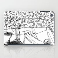 Line And Words - 2 iPad Case