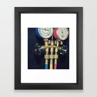 Gauge Framed Art Print