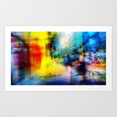 An other path to linger i.e. or heeding longer. 08 Art Print