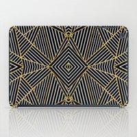 Ab Half Gold iPad Case