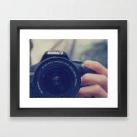 caamerraaaa Framed Art Print