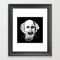 08. Zombie Martin Van Bu… Framed Art Print