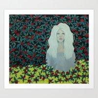 Marina. Art Print