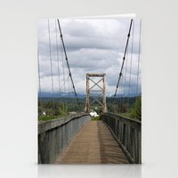 Across The Bridge And Be… Stationery Cards
