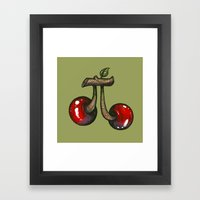 Cherry Pie Framed Art Print