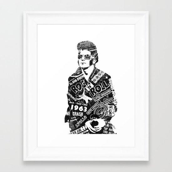 Rockers Delight Framed Art Print