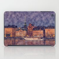 Stockholm´s Old Town Wa… iPad Case