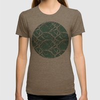 Winter Branches Womens Fitted Tee Tri-Coffee SMALL