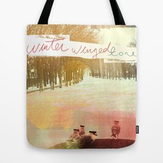 Without Care Like Birds Tote Bag