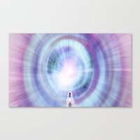 Canvas Print featuring The Search of Light by Ruben Marcus Luz Paschoarelli