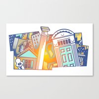 Architectural Canvas Print