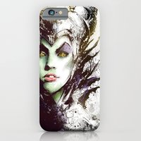 iPhone & iPod Case featuring Maleficent by Vincent Vernacatola