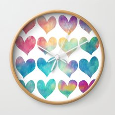 A Colorful Kind Of Love  Wall Clock