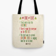 Buddy The Elf! The Code … Tote Bag