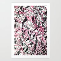FOILED {PINK} Art Print