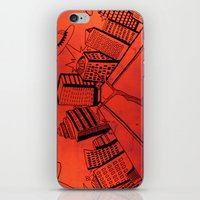 Crayliens iPhone & iPod Skin