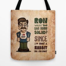 Ron Swanson 2 Tote Bag