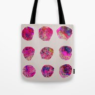 Tote Bag featuring Variations by Georgiana Paraschiv