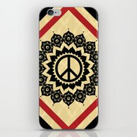 Peace Mandala iPhone & iPod Skin