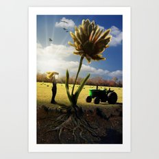 Miracle Grow Art Print