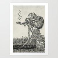 'Time' Art Print