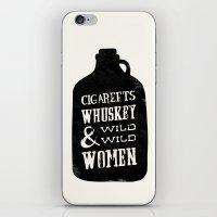 Cigareets & Whuskey iPhone & iPod Skin