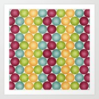 Polka Me Dotty! Art Print