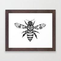 Flowers to Honey  Framed Art Print