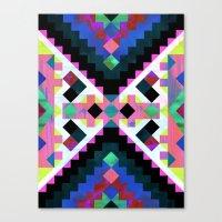 Hana Geometric Canvas Print