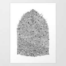 City of the Gods Art Print
