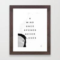 Loses Framed Art Print