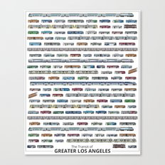 The Transit of Greater Los Angeles Canvas Print
