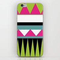 Funky Tribal Print iPhone & iPod Skin