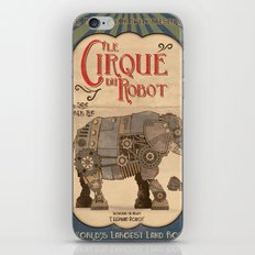 Robot Circus - Elephant iPhone & iPod Skin