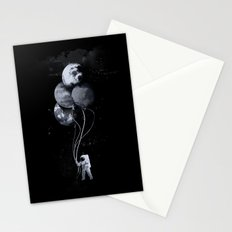 The spaceman's trip Stationery Cards