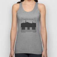 No192 My Casablanca minimal movie poster Unisex Tank Top